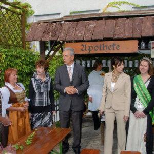 Bild Hoher Besuch zum Landeserntedankfest 2009