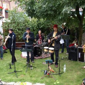 Bild MGN-Brassband - Hinterhoffest 2008