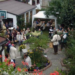 Bild Viele Besucher kommen jährlich zum Tag der offenen Hinterhöfe